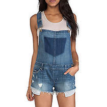 Nwt Blank Nyc Bunch of Fives Short Overalls as Seen on Nina Dobrev Size 28 Photo
