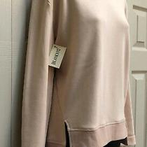 Nwt Blanknyc Super Cuddly Blush Sweatshirt Faux Fur Lining Sz M Photo
