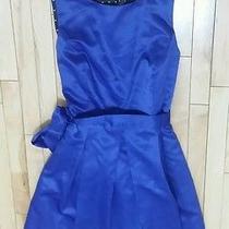Nwt Blu Sage Blue Breakfast Tiffanys Tea Dress Women's Size 16 Msrp 120  Photo