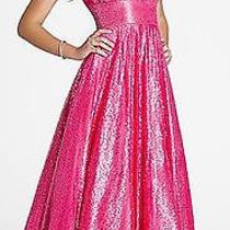 Nwt Blush Prom 5036 Size 2 Champagne Fully Sequins Pageant Gown Prom Gown Photo