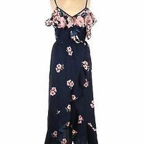 Nwt Blush Women Blue Casual Dress M Photo