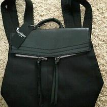 Nwt Botkier New York Mini Trigger Backpack Black   Photo