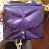 Nwt Botkier Patent Leather Lambskin Caravel Sapphire Hobo Purse - Great Photo