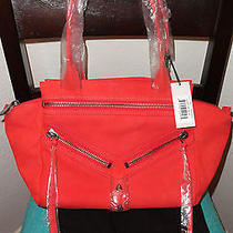 Nwt Botkier Small Legacy Permission Orange Lizard Embossed Shoulder Bag Satchel Photo