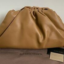 Nwt Bottega Veneta Pouch Cammello Brown Leather Oversized Frame Clutch Bag 2790 Photo