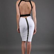 Nwt Boulee Bria White Dress Size 0 Photo