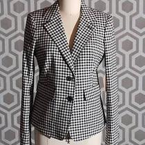 Nwt Boy by Band of Outsiders Gingham Plaid Linen Jacket Size 3 Photo