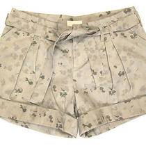 Nwt Boy by Band of Outsiders Printed Pleat Belted Cuffed Shorts Sz 4 / L 420 Photo