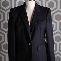 Nwt Boy by Band of Outsiders School Boy Blazer Wool Black 4 Single Button 1100 Photo
