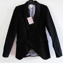 Nwt Boy by Band of Outsiders Tuxedo Blazer in Black  Photo