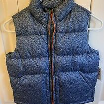 Nwt Boys Blue Old Navy Puffer Vest Size Small 6/7 Photo