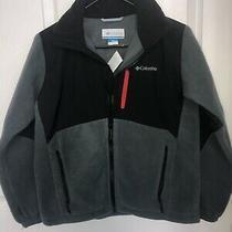 Nwt Boys Columbia Fleece Jacket Size 14/16 Photo