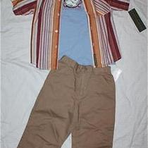 Nwt Boys Kenneth Cole Reaction 3pc Outfit Set Pants Shirts Clothes Size 4t Photo