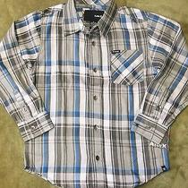 Nwt Boys Long Sleeve Concrete Shirt by Hurley Size 6  msrp38.00 135 Photo
