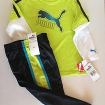 Nwt Boys Two Piece Set Puma 5t Photo