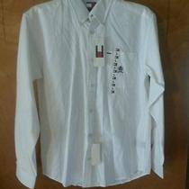 Nwt Boys Youth Large Tommy Hilfiger White Dress Shirt Nice Shirt Retail 34 Photo