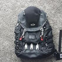 Nwt Brand New Authentic Oakley Designer Kitchen Sink Black Pack Backpack Photo