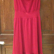 Nwt Brick Red Strapless Dress Photo