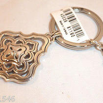 Nwt Brighton Carlton Silver Plated Key Fob Key Chain Ring E15110 Photo