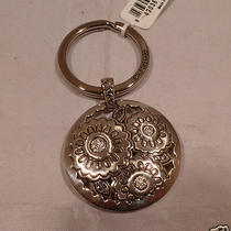Nwt Brighton Gilly Flower Silver  Plated Key Chain Ring Fob E 14840 Photo