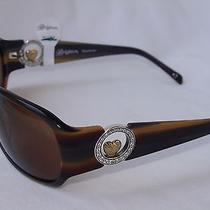 Nwt Brighton Heart of Gold  Handmade Sunglasses 70 Photo