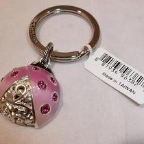 Nwt Brighton Ladybug With Swarovski Crystals Key Ring Chain Fob E14350 Photo
