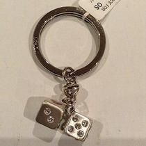 Nwtbrighton Lucky Dice Key Fob Ring/or Use as a Necklace Pendant Photo