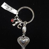 Nwt- Brighton Lucky Heart/clover Key Ring E11042 Photo