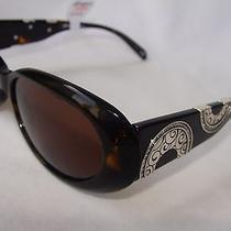 Nwt Brighton Moon River Black Handmade Sunglasses 80 Photo