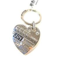 Nwtbrighton Spirit Heart Silver Key Fob Ring/or Use as a Necklace Pendant Photo