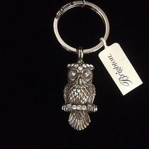 Nwt Brighton Wisdom Owl Key Fob Keychain Pendant Swarovski Crystals Photo