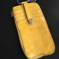Nwt Brighton Yellow Cellphone Holder Wallet Keychain Retail 60  Photo