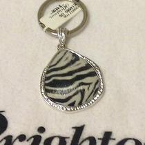 Nwt Brighton Zebra Trinity Key Fob Key Chain Pendant Swarovski Crystals Photo