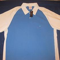 Nwt Brooks Brothers 346 Color Block White/blue Polo Shirt Size L Photo