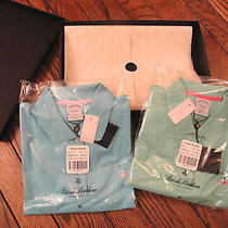 Nwt Brooks Brothers Set of Two Short Sleeved Knit Tops in Gift Box   Size Xl Photo
