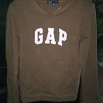 Nwt Brown Hooded Fleece Lined Sweatshirt Xl 12 Photo