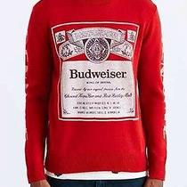 Nwt Budweiser Sweater Crew Neck Junk Food Urban Outfitters Vintage / Size Small Photo