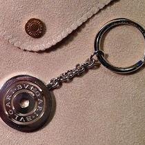 Nwt Bulgari Sterling Silver Concentrica Keychain Photo