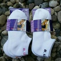 Nwt Bum Equipment Women's Athletic Ankle Socks 6 Pairs Size 9-11  Photo