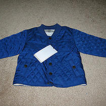 Nwt Burberry Barn Jacket - Size 9 Months - Free Shipping  Photo