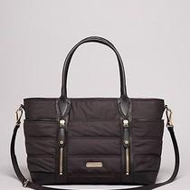 Nwt Burberry Olympia Quilted Baby Diaper Tote Black Msrp 795 Photo