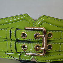 Nwt Burberry Prorsum 495 Runway Corset Patent Leather Belt Sz 28 Made in Italy Photo