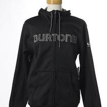 Nwt Burton Black Explorer Recreation Outdoors Hooded Jacket Large Photo