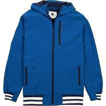 Nwt Burton Mb Ss Softshell Blue Hoodie Jacket Mens Nwt Photo