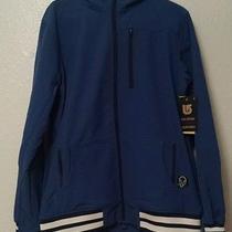 Nwt Burton Mb Ss Softshell Hoodie Jacket Size Large  l.e.d. Blue  Photo