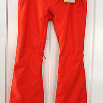 Nwt Burton Women's Gloria Snowboard Ski Dryride Durashell Ember Orange Pants Xl Photo