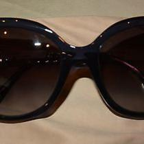 Nwt Bvlgari Bulgari Crystal / Mother of Pearl Sunglasses Photo