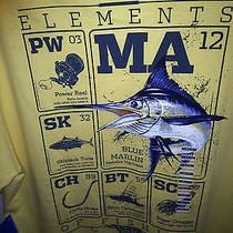 Nwt  by Columbia Pfg  Fabulous Orange Short Sleeve Elements of Fishing Med Photo