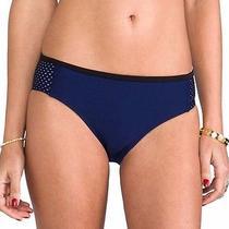 Nwt c&m Camilla and Marc Another World Neoprene Bikini Bottom in Navy Us Sz 4 Photo