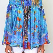 Nwt Camilla Franks Take My Hand Off the Shoulder Blouse Photo